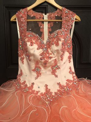 Coral Quinceanera Dress for Sale in Bell Gardens, CA