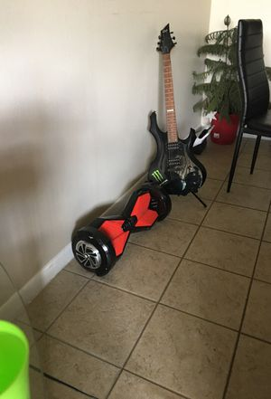 Electric Hoverboard with Bluetooh and LED Lights for Sale in Miami, FL