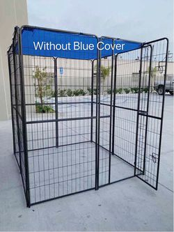 New in box 72 inch tall x 32 inches wide each panel x 8 panels heavy duty exercise playpen fence safety gate dog cage crate kennel expandable fence g for Sale in El Monte,  CA