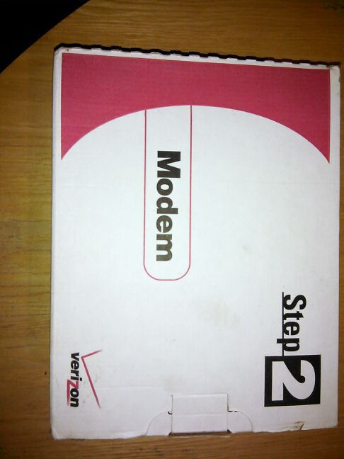 WESTELL WIRESPEED DSL MODEM STEP 2 HOME OR OFFICE by Verizon model# B90-210015-04 / part# B99-211015-00