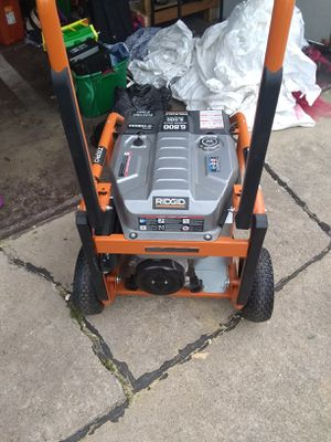 Generator use it only once I paid 1000 for it asking 850 or better offer for Sale in Evergreen Park, IL