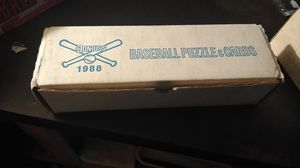 1988 DonRuss Sealed Baseball Cards and Puzzle for Sale in Seattle, WA