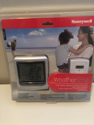 Wireless indoor/outdoor thermostat-hygrometer for Sale in Atlanta, GA