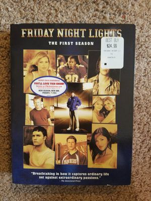 Friday night lights season 1 DVD for Sale in Cary, NC