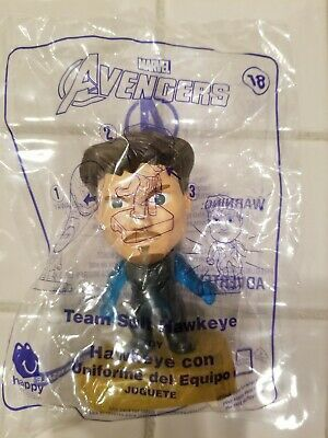 Avengers Hawkeye Team Suit #18 McDonald's Collectible Toy