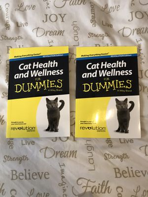 FREE Cat health and wellness for dummies books WITH ANY PURCHASE!!! for Sale in Elma, WA