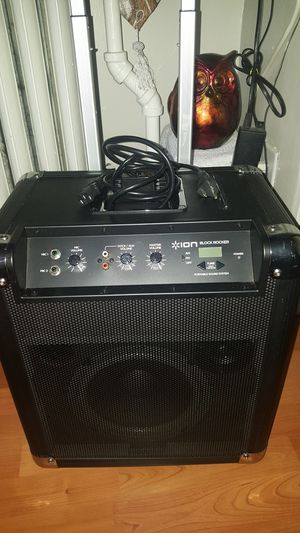 Ion block rocker speaker for Sale in New York, NY