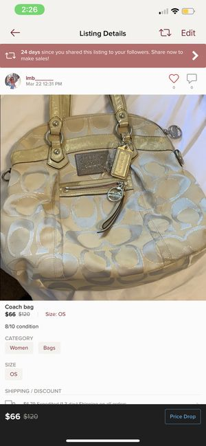Coach bag for Sale in Alexandria, VA