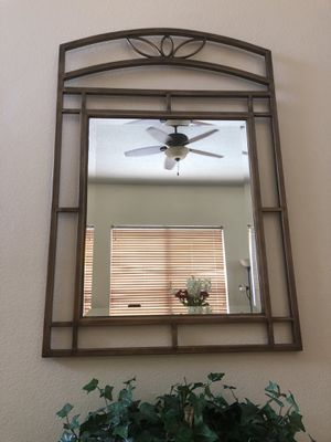 Metal wall mirror for Sale in Orlando, FL