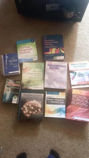 Nursing school books for Sale in Marysville, WA