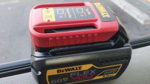 Dewalt 60v flex volt battery for Sale in Anaheim, CA