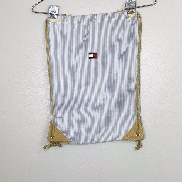 Vintage Tommy Hilfiger Unisex Drawstring Backpack