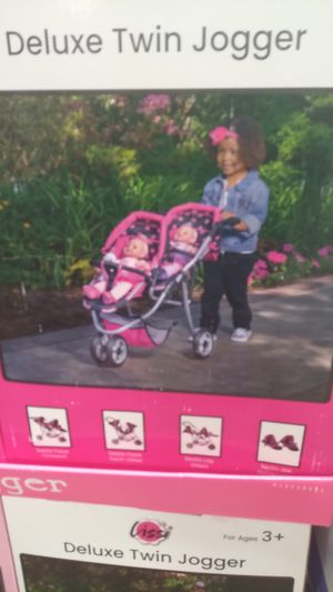 Deluxe twin jogger baby stroller for Sale in Pompano Beach, FL