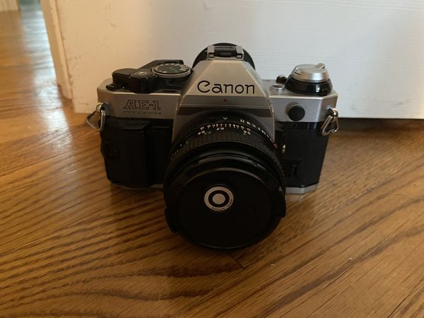 Canon AE-1 Program 35mm SLR Manual Focus Camera