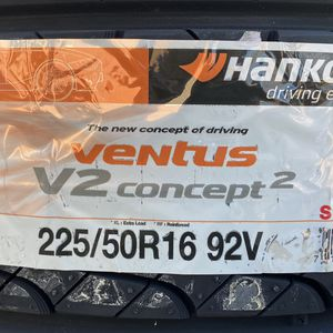 225/50R16 Hankook Ventus V2 Concept for Sale in Germantown, MD