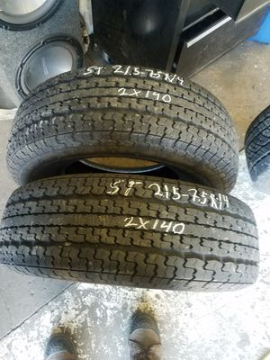 2 Use Goodyear trailer tires for Sale in Eugene, OR