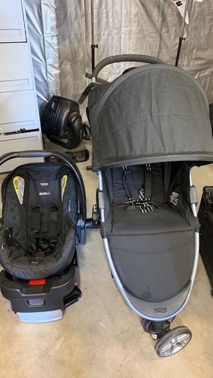 Britex stroller & car seat for Sale in Whittier, CA