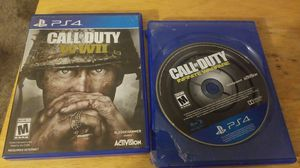 2 games Call Of Duty World War 2 and Infinite Warefare for Sale in Tucson, AZ