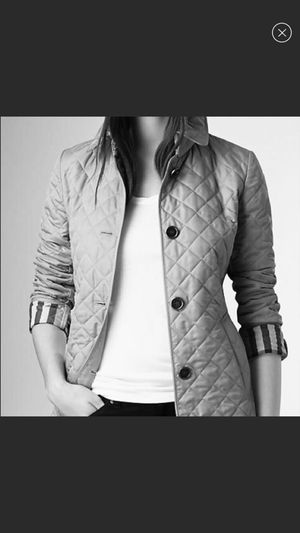 Burberry quilted jacket for Sale in Denver, CO