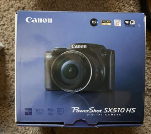 Cannon Power shot shot SX510 for Sale in Foxborough, MA