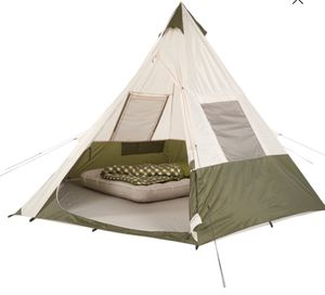 7 Person Teepee Tent No Center Pole Camping Beach BBQ Backyard for Sale in Glendora, CA