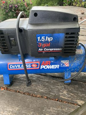 DeVilbiss Compressor for Sale in Tigard, OR