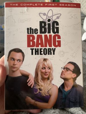 The Big Bang theory first season DVDS for Sale in Rochester, NY