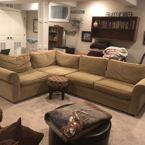 Pottery barn sectional for Sale in North Aurora, IL