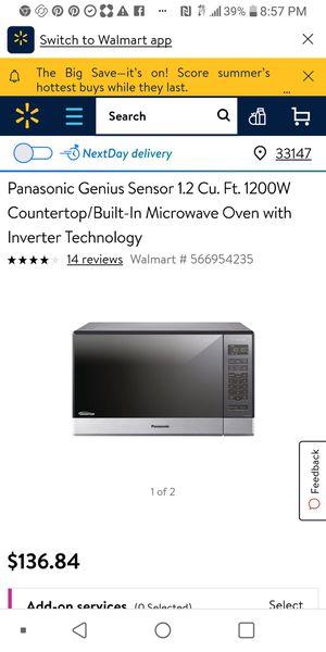 Panasonic Microwave for Sale in Miami, FL