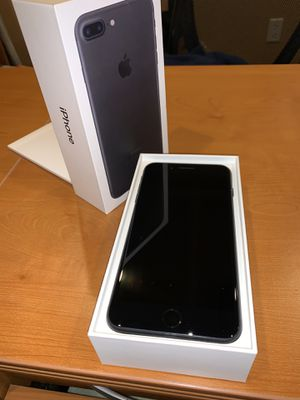 Apple iPhone 7 Plus 128GB Black for Sale in Rancho Cucamonga, CA