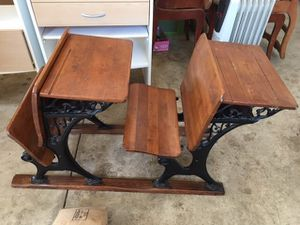 Children's antique school desk for Sale in Vienna, VA