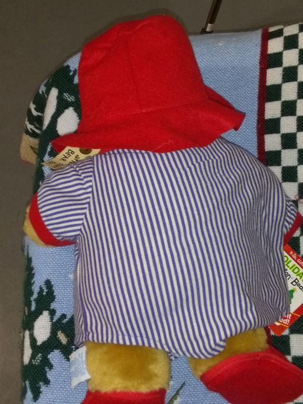 Holiday Paddington Bear