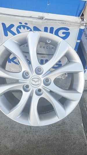 """17"""" aluminum rims. 5 holes. for Sale in Medford, OR"""