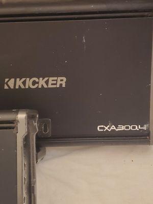 Kicker CXA 300.4 - 4 Channel Amplifier for Sale in Kent, WA