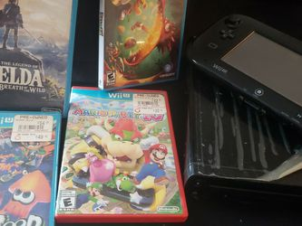 Nintendo WII u With 4 Games $150 for Sale in Philadelphia,  PA