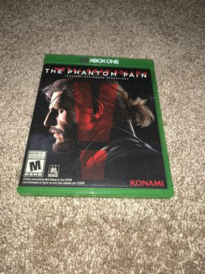 Metal gear solid 5 the phantom pain Xbox one for Sale in San Antonio, TX