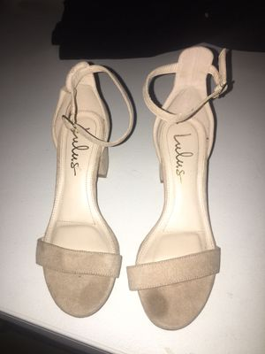 Tan Heels for Sale in Victorville, CA