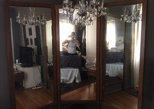 Antique three way mirror for Sale in Miami Beach, FL