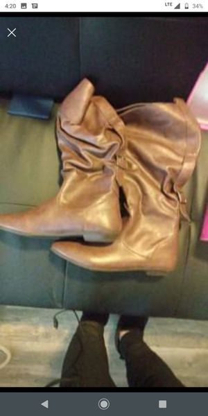 8.5 tan boots for Sale in Anchorage, AK