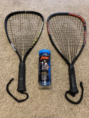 Squash Racket and Ball for Sale in Saginaw, TX
