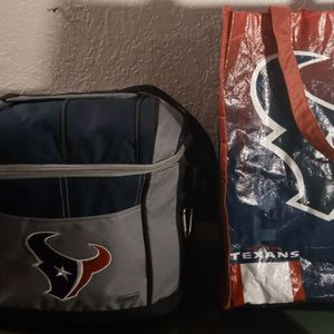 HOUSTON TEXANS Cooler Free Tote for Sale in Oklahoma City, OK