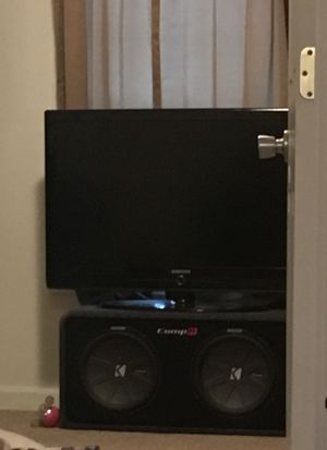 Kicker subs pioneer amp for Sale in Saint Albans City, VT