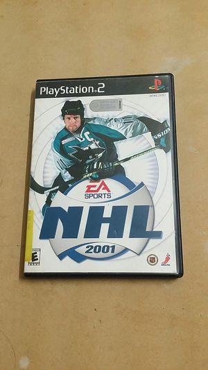 NHL 2001, PS2 for Sale in El Cajon, CA