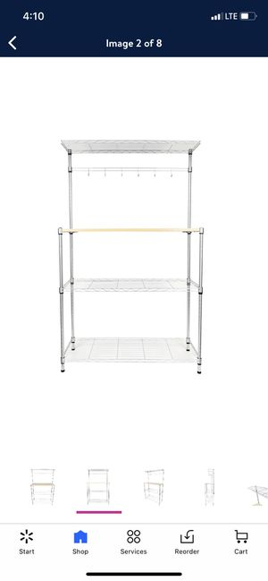 kitchen baker rack new for Sale in Downey, CA