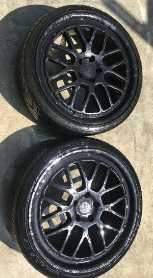 """TSW AFTERMARKET 20"""" INCH WHEELS RIMS OEM 2 ONLY WITH TIRES for Sale in Fort Lauderdale, FL"""