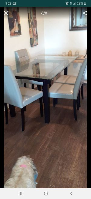 Free glass table with 3 chairs! for Sale in Imperial Beach, CA