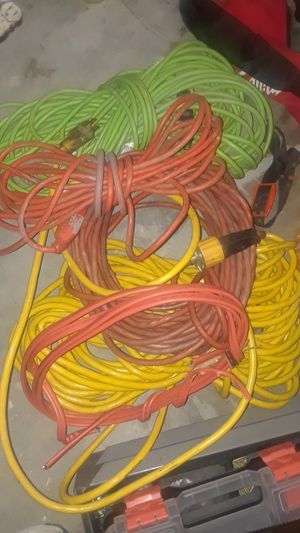 5 extension cords for Sale in Indianapolis, IN