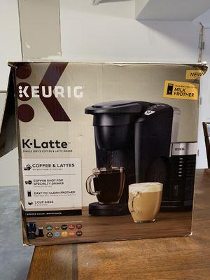 Keurig K. Latte for Sale in OSBORNVILLE, NJ