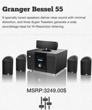 Granger Bessel Home Theater System for Sale in Bristow, VA