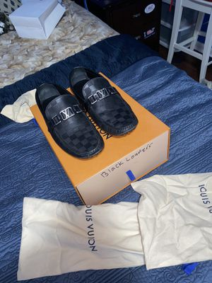 Louis Vuitton Black Loafers Size 9.5 for Sale in Marietta, GA